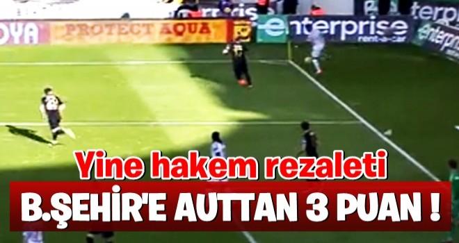 Başakşehir'in golünde büyük tartışma!
