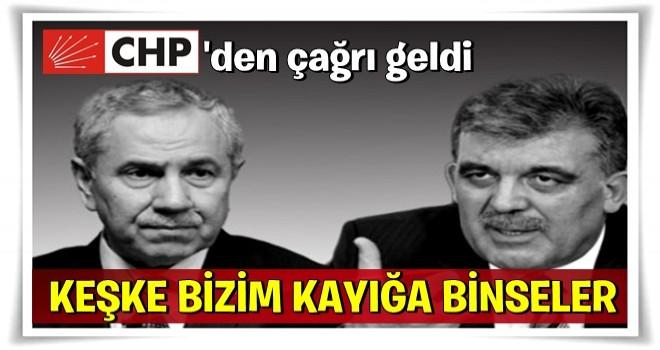CHP'li Engin Altay'dan Abdullah Gül ve Bülent Arınç'a çağrı