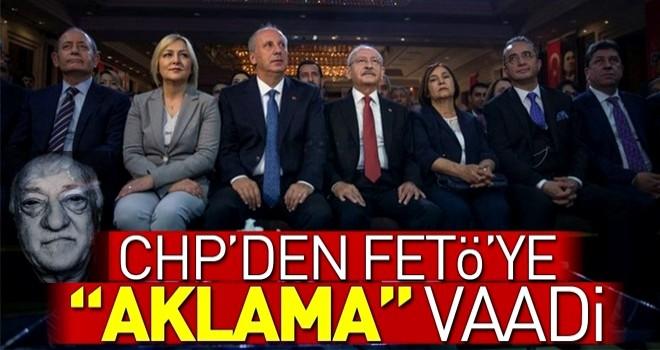 CHP'den FETÖ'ye