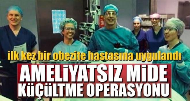Ameliyatsız mide küçültme operasyonu
