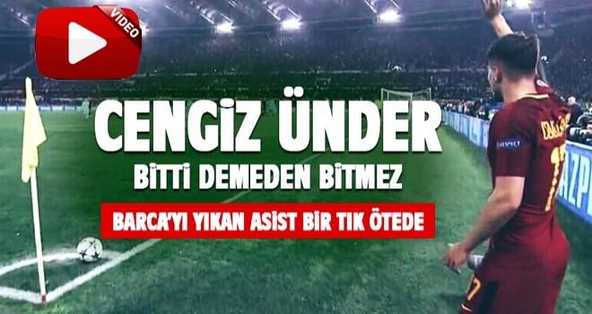 Cengiz Ünder'in asisti Barcelona'yı Şampiyonlar Ligi'nin dışına itti