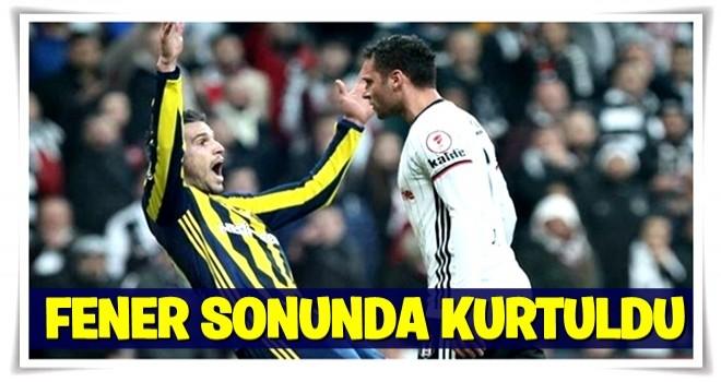 Fenerbahçe kurtuldu!