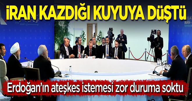 Canlı yayın tuzağına İran'ın kendisi düştü! Erdoğan'ın ateşkes istemesi...