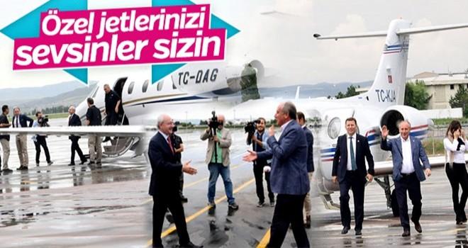 Kılıçdaroğlu ile İnce Esenboğa'da karşılaştı