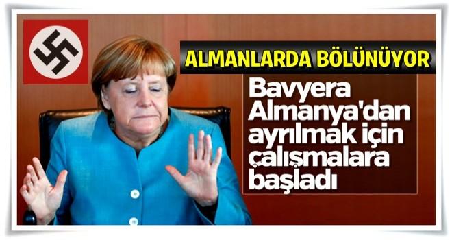 İspanya'dan sonra Almanya da bölünüyor!