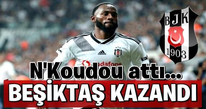 Beşiktaş, Denizlispor'u N'Koudou ile geçti; seriyi 3 maça çıkardı