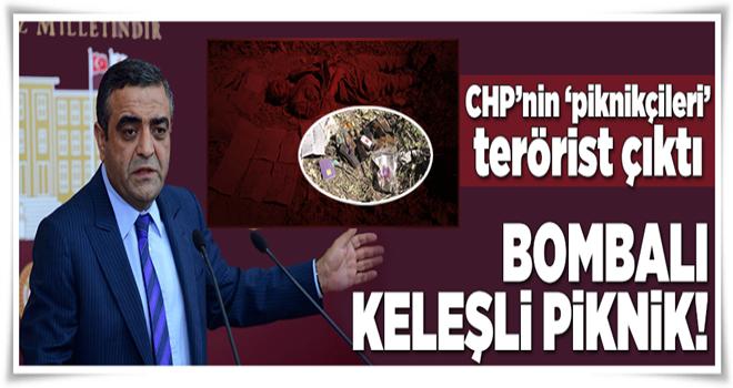 CHP'nin 'piknikçileri' terörist çıktı  .