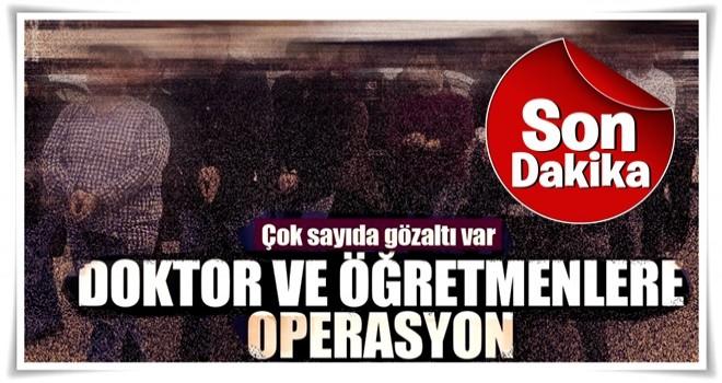 İstanbul'da büyük operasyon! Gözaltılar sürüyor