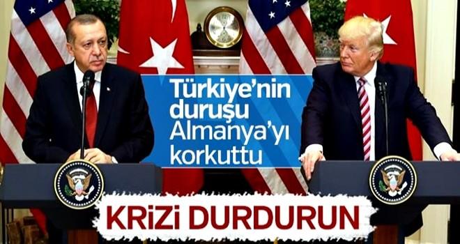 Almanya'dan Türkiye ve ABD'ye kriz bitmeli çağrısı