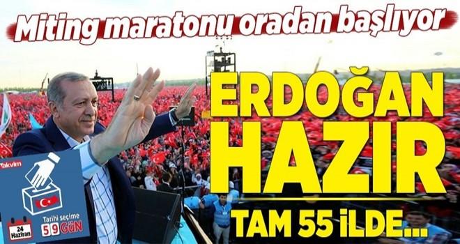 Erdoğan'ın miting maratonu İzmir'de başlıyor! İzmir mitingi ne zaman? .
