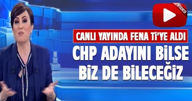 Didem Arslan Yılmaz CHP'yi fena Tİ'ye aldı