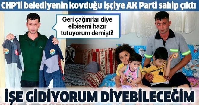 CHP'li belediyenin kovduğu Halil Özmen'e AK Partili Yüreğir belediyesi sahip çıktı