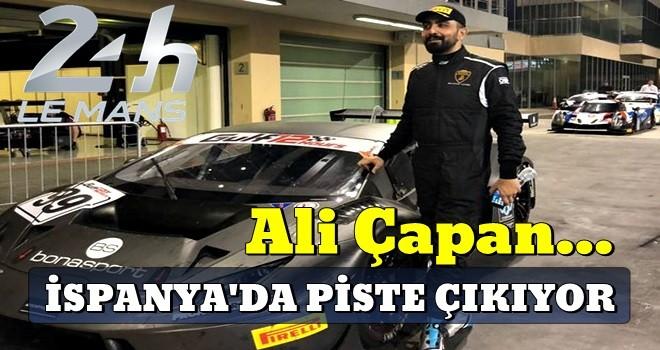 Ali Çapan İspanya'da piste çıkıyor..