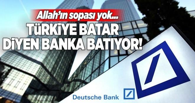 Türkiye batar diyen banka battı! Eleman çıkarıyor .