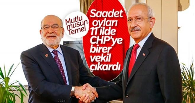 Saadet Partisi'nin oyları CHP'ye yaradı