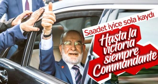 Saadetliler Karamollaoğlu'na Commandante diyor