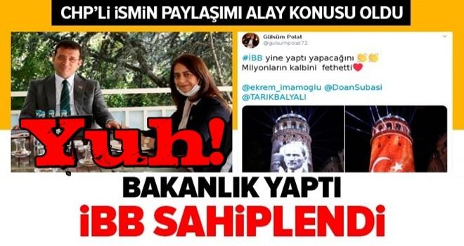 Kültür ve Turizm Bakanlığı yaptı, CHP'li İBB sahiplendi! Gülsüm Polat'ın paylaşımı alay konusu oldu .