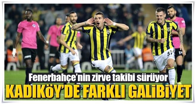 Fenerbahçe Kadıköy'de farklı kazandı