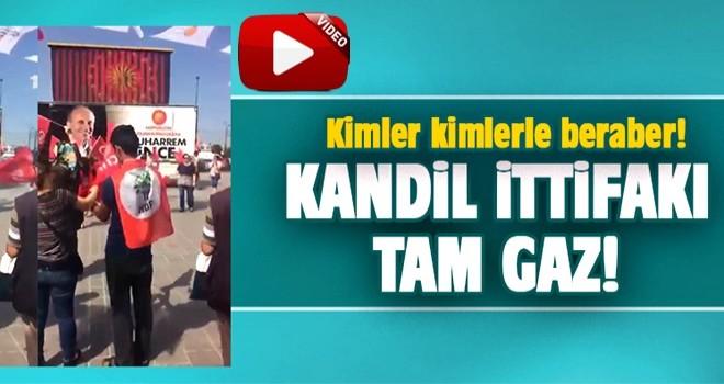 CHP - HDP seçim çalışmasında el ele