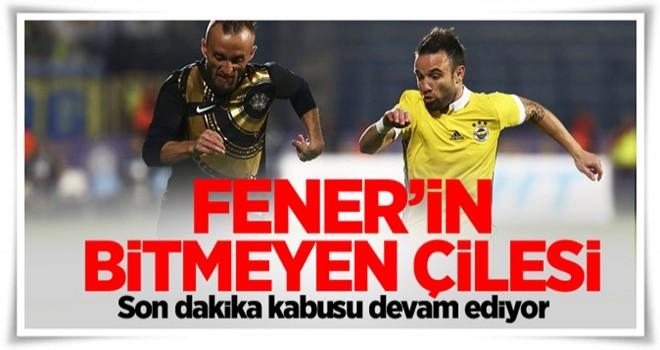 Fenerbahçe Osmanlıspor'u da yenemedi