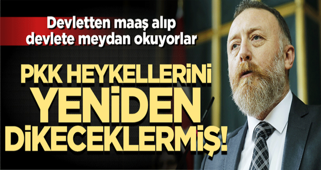 HDP'nin seçim vaadi bakın! PKK heykellerini yeniden dikeceklermiş
