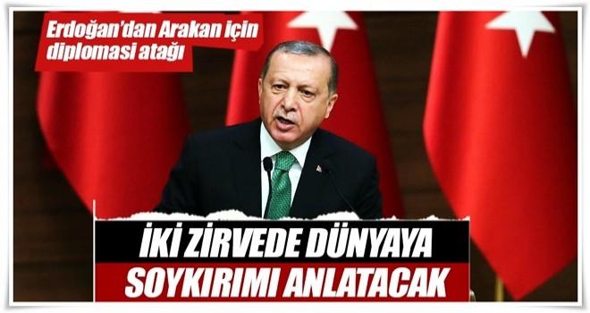 Erdoğan'dan Arakan için diplomasi atağı
