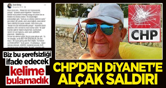 CHP'li isimden skandal