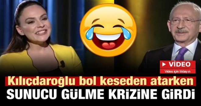 Kılıçdaroğlu'nun iddialı sözleri sunucuyu gülme krizine soktu