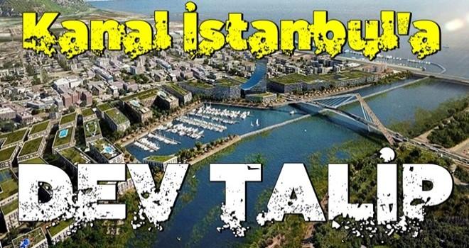 ABD'li dev şirket Kanal İstanbul'a talip oldu!