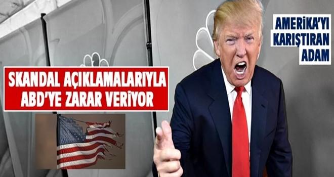 Trump'ın skandal açıklamaları ABD'ye zarar veriyor!
