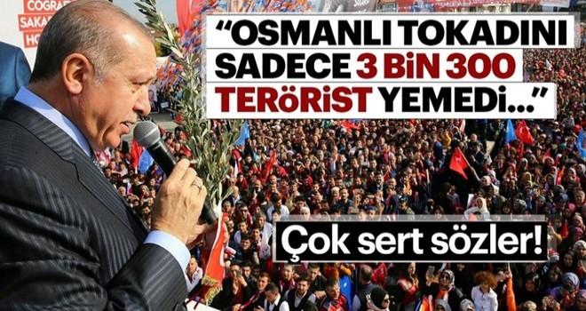 Şu anda 3300 terörist yemedi sadece Osmanlı tokadını...