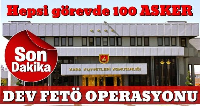 Son dakika: Ankara'da dev FETÖ operasyonu!