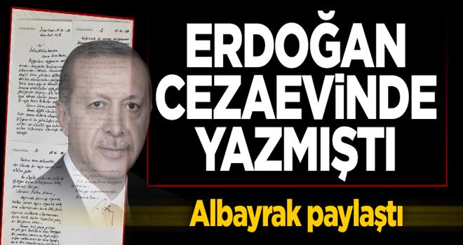 Erdoğan'ın cezaevinde yazmıştı! Kızı Esra Albayrak paylaştı