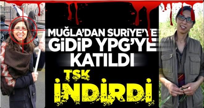 Teröristlerle tanışıp YPG'ye katılan Ceren Güneş etkisiz hale getirildi