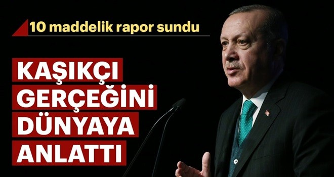 Başkan Erdoğan,Kaşıkçı gerçeğini dünyaya anlattı