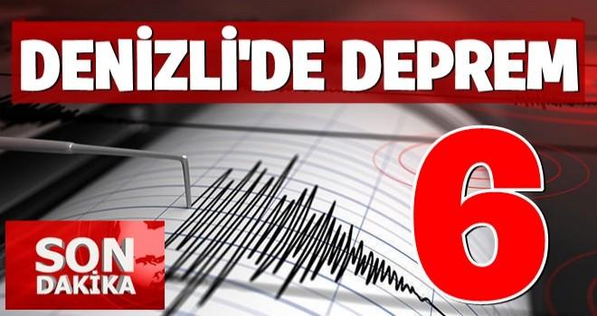 İzmir'den sonra Denizli'de de deprem!