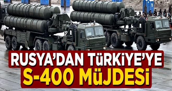 Rusya'da Türkiye'ye S-400 müjdesi geldi