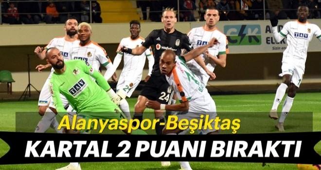Beşiktaş Alanya'da yaralı