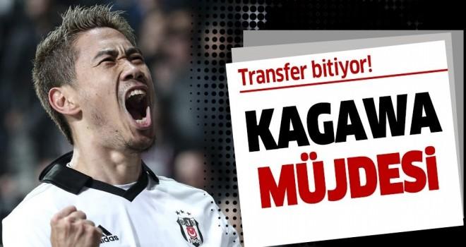 Beşiktaş'ın Kagawa mesaisi! Yönetim Dortmund'la el sıkışmak üzere .