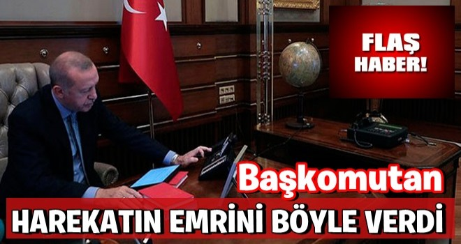 Başkomutan Erdoğan ''Barış Pınarı Harekatının'' emrini böyle verdi