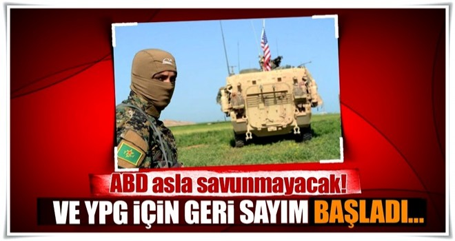 YPG için geri sayım başladı