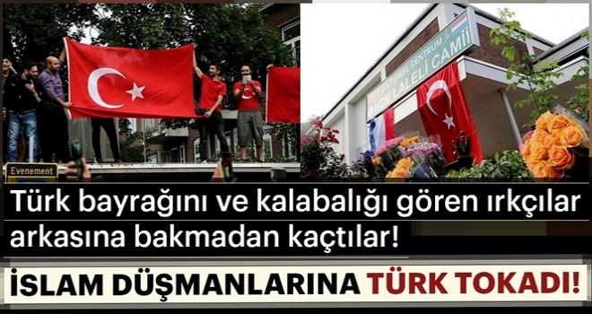 PEGIDA'ya Türk tokadı! Kaçtılar