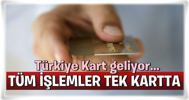 Türkiye Kart geliyor... Tüm işlemler tek kartta