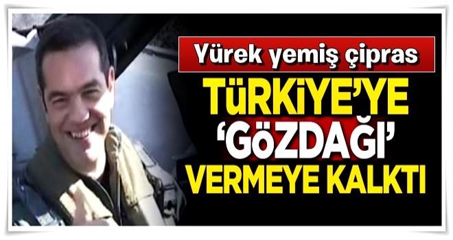 Savaş uçağıyla Türkiye'ye gözdağı vermeye kalktı