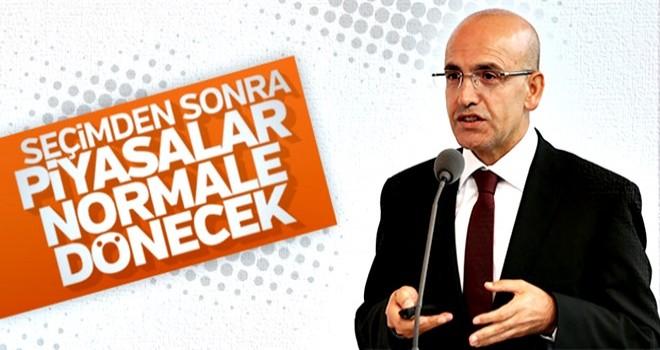 Mehmet Şimşek 24 Haziran sonrasını işaret etti