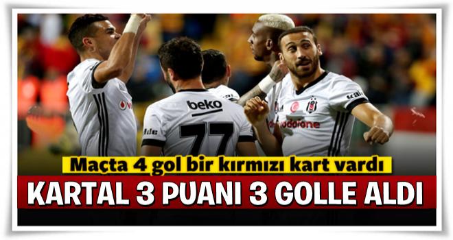 Beşiktaş deplasmanda Göztepe'ye 3 attı