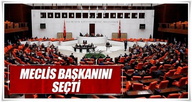 Meclis Başkanını seçti