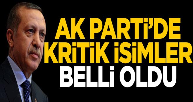 AK Parti'de ittifak çalışmalarını yönetecek kritik isimler belli oldu