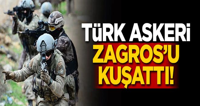 Türk askeri Zagros'u kuşattı!