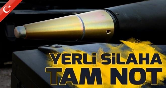 Afrin'de kullanılan milli silahlara tam not!.